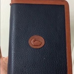 Authentic Dooney & Bourke daily planner